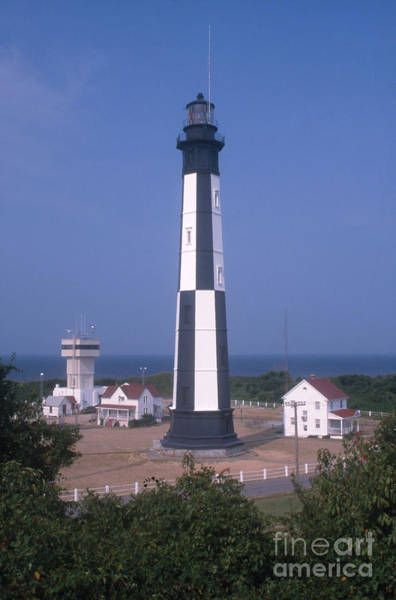 Virginia Lighthouse Photograph - New Cape Henry Lighthouse by Bruce Roberts