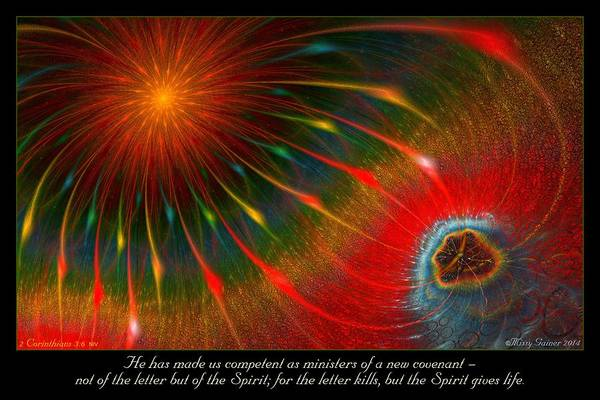 Digital Art - New Covenant by Missy Gainer