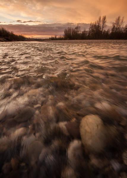 Riverscape Wall Art - Photograph - New Dawn by Davorin Mance