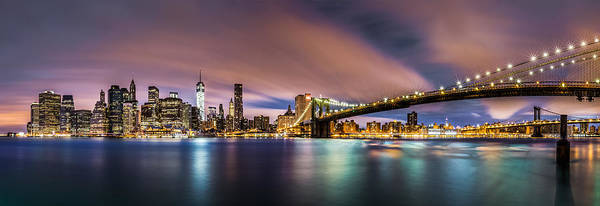 Photograph - New Dawn Over New York by Mihai Andritoiu