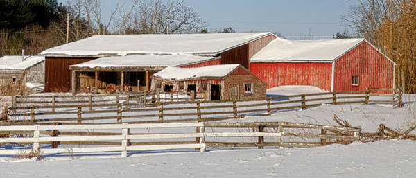 Photograph - New England Barn by Rick Mosher