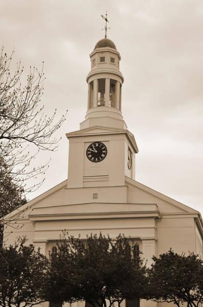Digital Art - New England Church by Kirt Tisdale