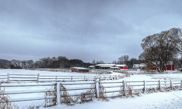 Photograph - New England Farm by Rick Mosher