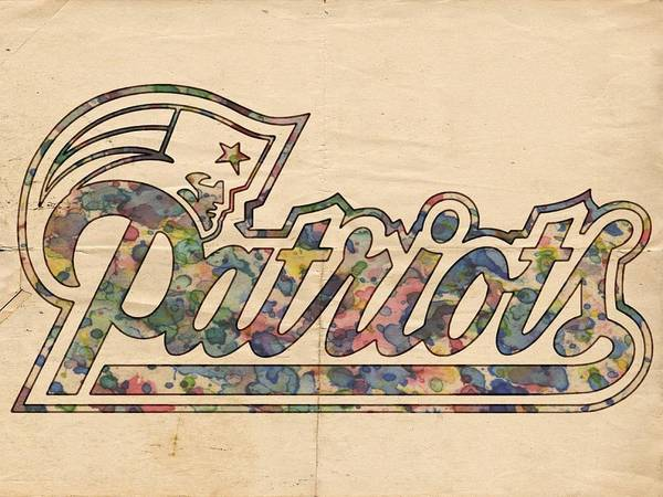Painting - New England Patriots Logo Art by Florian Rodarte