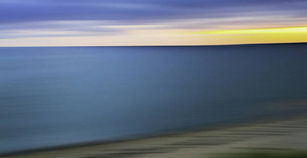 Photograph - New England Seascape Abstract by T-S Fine Art Landscape Photography
