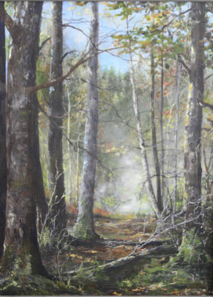 Painting - New England Woods by Cae Wuerth