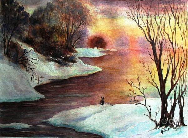 Wall Art - Painting - New Every Morning  by Hazel Holland