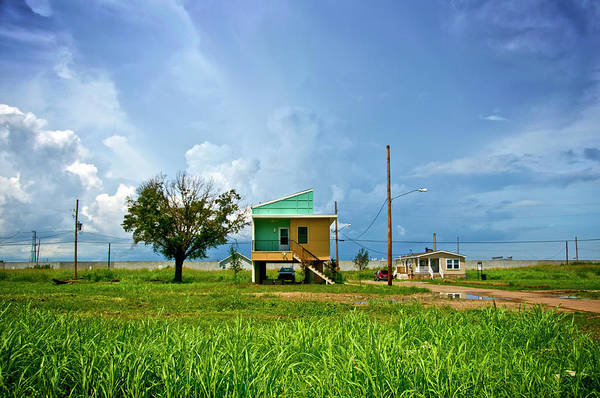 Louisiana Photograph - New Home, Built After Hurricane by Ray Laskowitz