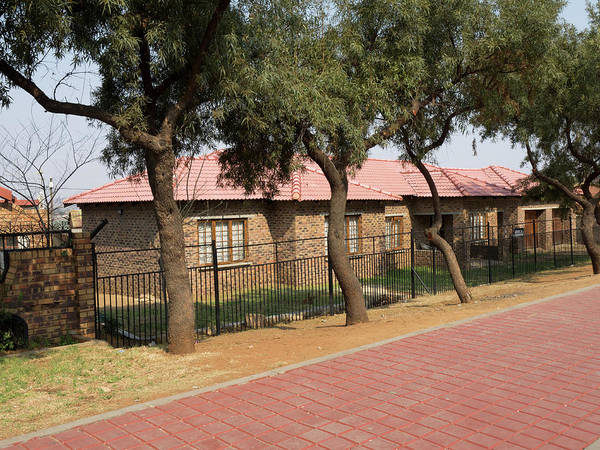 Johannesburg Wall Art - Photograph - New Homes, Soweto, Johannesburg by Panoramic Images