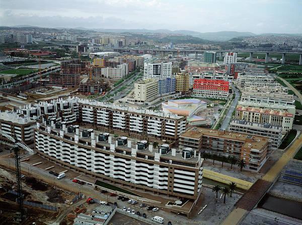 Housing Development Photograph - New Housing Development by Robert Brook/science Photo Library