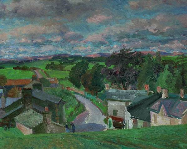 Lake District Painting - New Hutton Westmorland by Stephen Harris