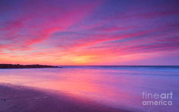 Reverse Wall Art - Photograph - New Jersey Sunrise by Michael Ver Sprill