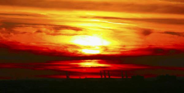 Photograph - New Jersey Sunset by Bob Slitzan