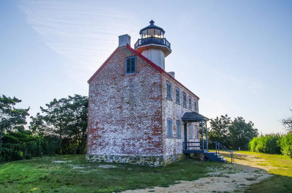 Wall Art - Photograph - New Jersey's East Point Lighthouse by Bill Cannon