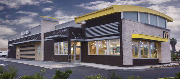 Digital Art - New Mcdonald's by Photographic Art by Russel Ray Photos