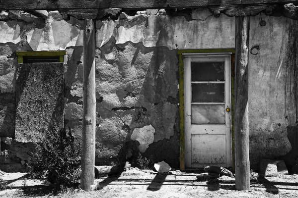 Gandy Wall Art - Photograph - New Mexico Building Detail by Steve Gandy