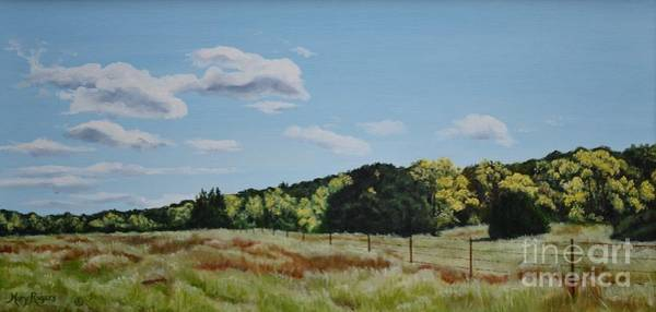 Mary Rogers Painting - New Mexico Gold by Mary Rogers