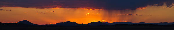 Photograph - New Mexico Sunset by Atom Crawford