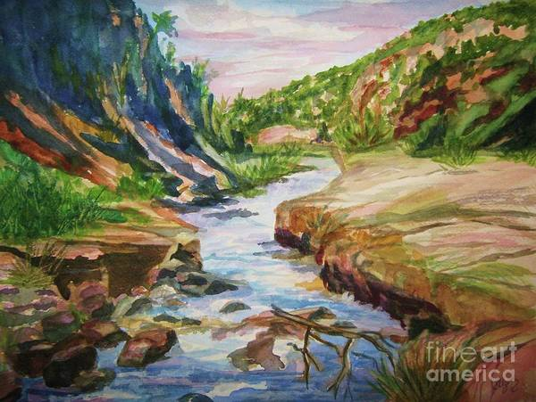 Enchantment Painting - New Mexico's Beauty by Ellen Levinson