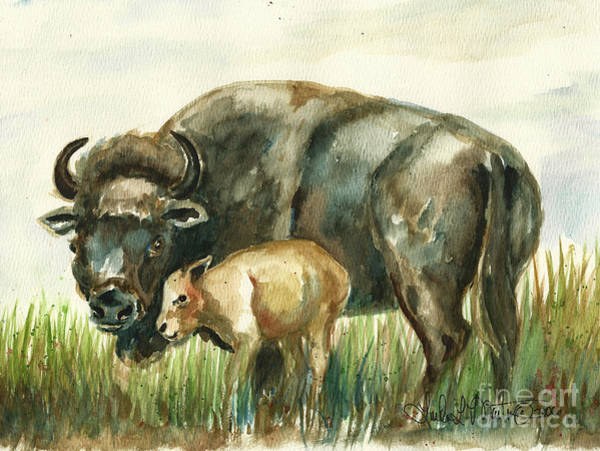 Painting - New Momma by Linda L Martin