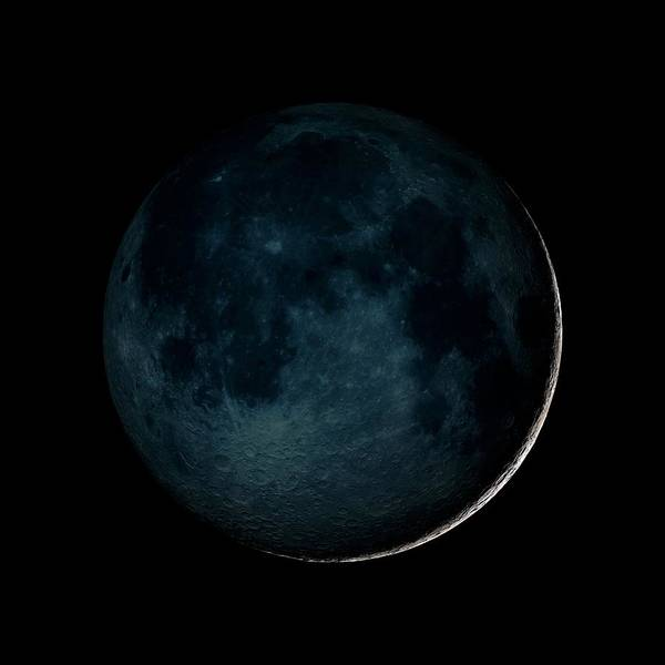 Wall Art - Photograph - New Moon by Nasa/gsfc-svs/science Photo Library