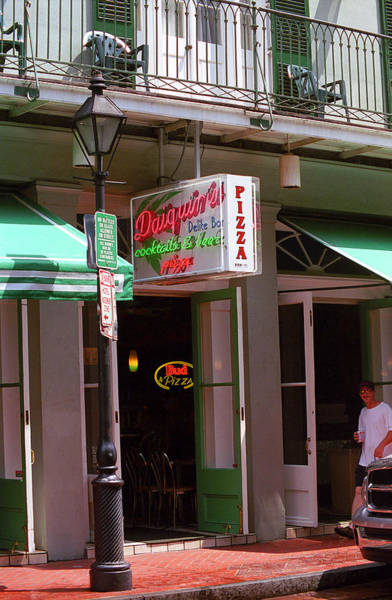 Photograph - New Orleans - Pizza And Beer by Frank Romeo