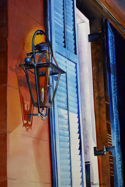 Painting - New Orleans At Night by Phyllis London