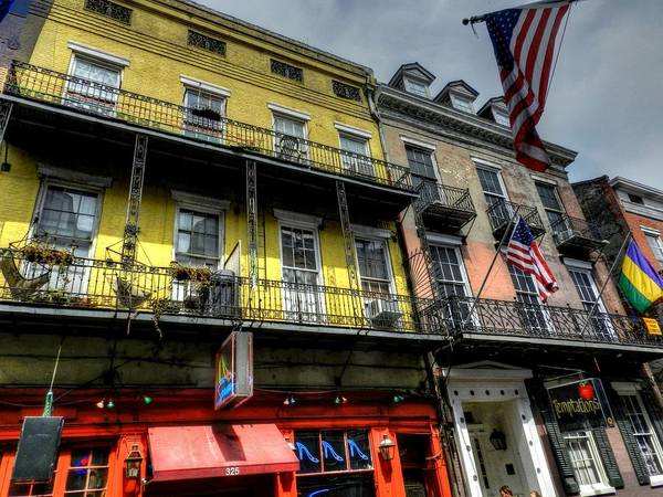 Photograph - New Orleans - Bourbon Street 007 by Lance Vaughn
