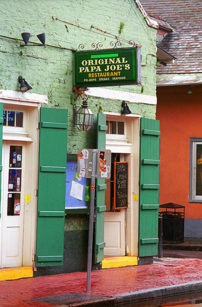 Photograph - New Orleans - Bourbon Street 4 by Frank Romeo