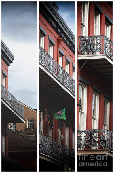Photograph - New Orleans Building Panels by John Rizzuto
