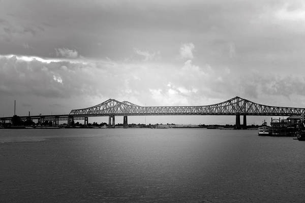 Wall Art - Photograph - New Orleans Ccc Bridge by Christine Till