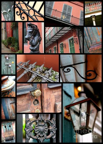 Photograph - New Orleans Collage 2 by Carol Groenen