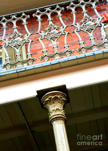 Photograph - New Orleans Column by Carol Groenen