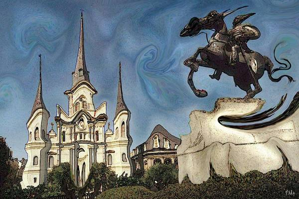 Painting - Swinging New Orleans - Modern Art by Peter Potter