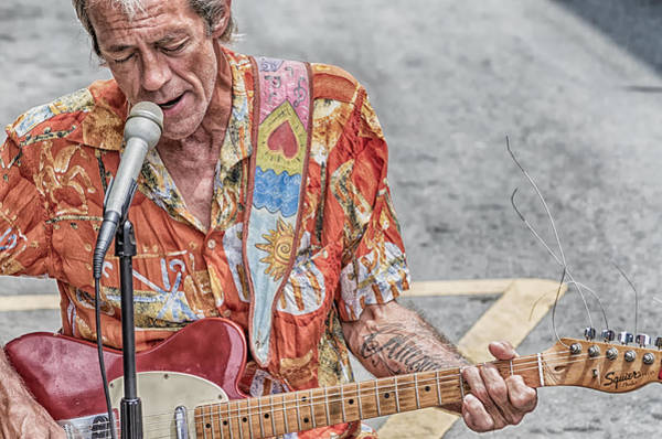 Photograph - New Orleans Guitar Man by Jim Shackett