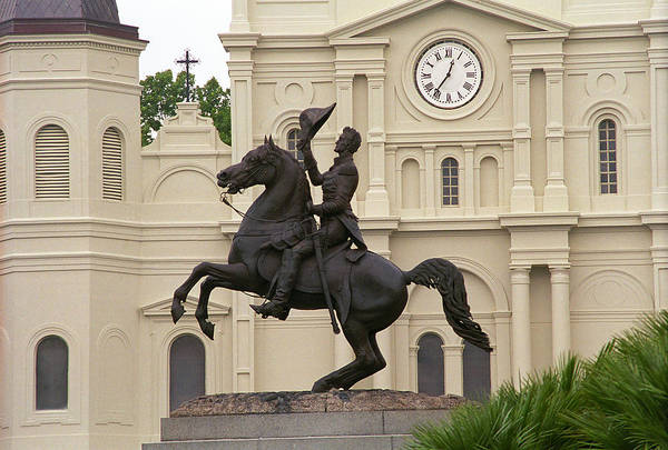 Photograph - New Orleans - Jackson Square 1 by Frank Romeo