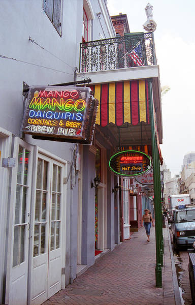 Photograph - New Orleans Pub by Frank Romeo