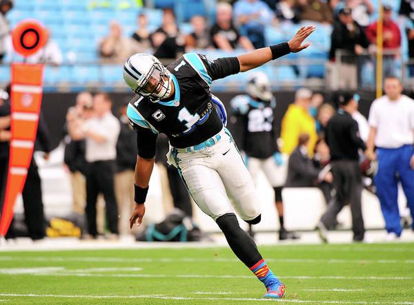 Us Bank Photograph - New Orleans Saints V Carolina Panthers by Grant Halverson