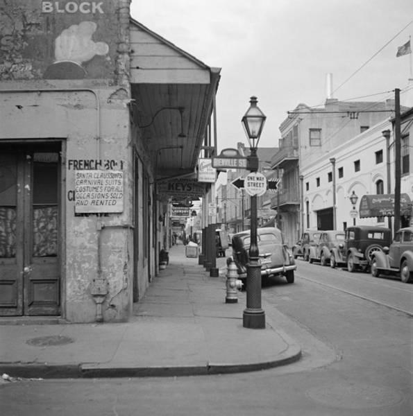 Wall Art - Photograph - New Orleans Shop, 1941 by Granger