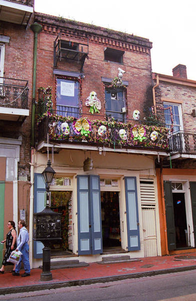 Photograph - New Orleans Shops 2 by Frank Romeo