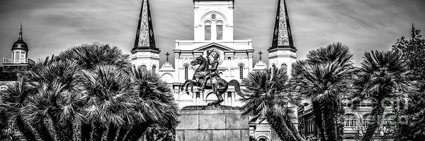 St Andrews Photograph - New Orleans St. Louis Cathedral Panorama Photo by Paul Velgos