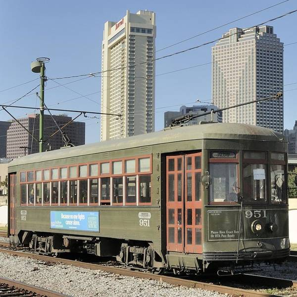 Photograph - New Orleans Streetcar by Bradford Martin