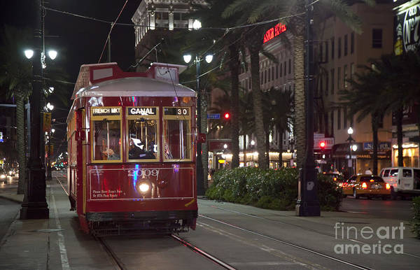Photograph - New Orleans Streetcar by Jim West