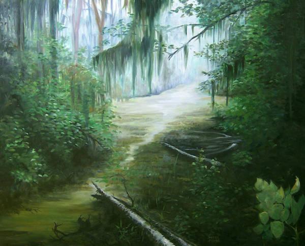 New Orleans Swamp Art Print by Susan Moore
