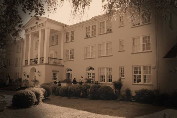 Photograph - New Perry Hotel In Sepia by Gordon Elwell