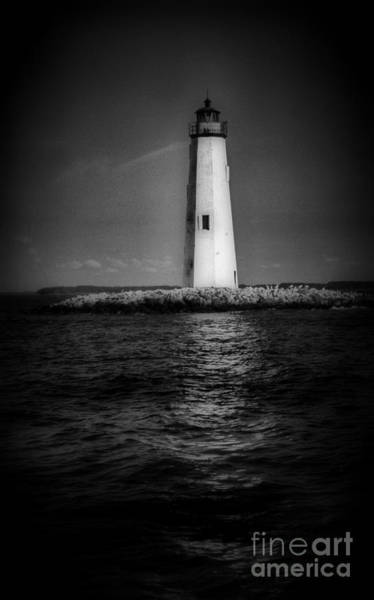 Virginia Lighthouse Photograph - New Point Comfort Lighthouse by Skip Willits
