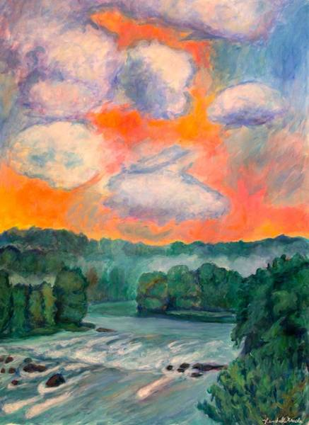 Painting - New River Beauty by Kendall Kessler