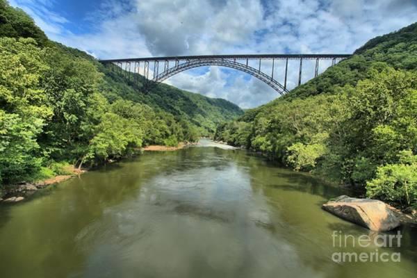 Photograph - New River Gorge Bridge by Adam Jewell