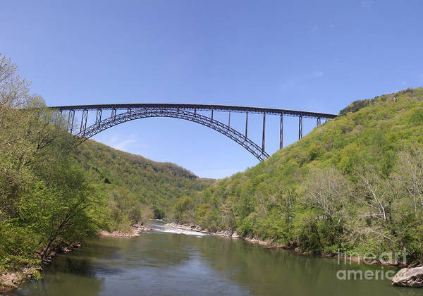 Wall Art - Photograph - New River Gorge Bridge by Teresa Mucha