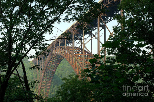 Allegheny Mountains Wall Art - Photograph - New River Gorge Bridge  by Thomas R Fletcher